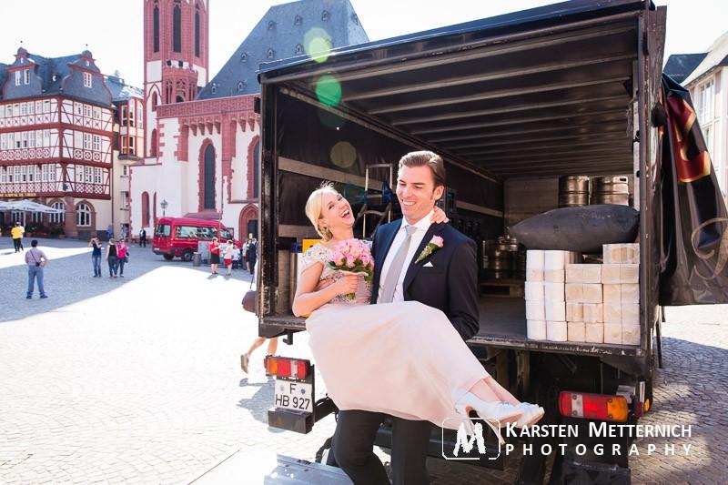 Hochzeit im Römer in Frankfurt